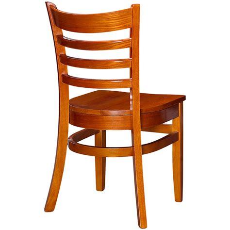 wooden ladder back chairs wood ladder back restaurant chair 7165