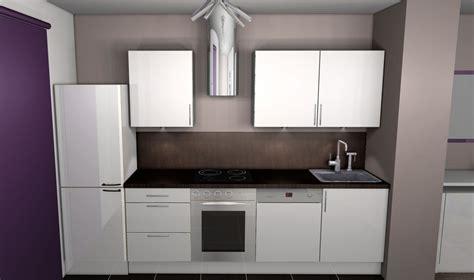 cuisine beige et marron cuisine blanche et taupe pas cher sur cuisine lareduc com
