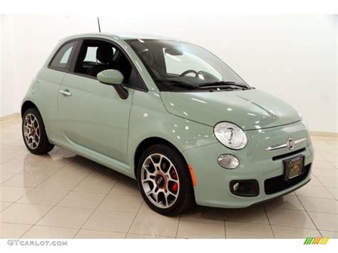 Fiat 500 Colors by 2013 Verde Chiaro Light Green Fiat 500 Sport 102845567