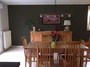 peindre un mur en noir mat 20170710010458 arcizocom With peindre salon 2 couleurs 6 nos astuces en photos pour peindre une piace en deux