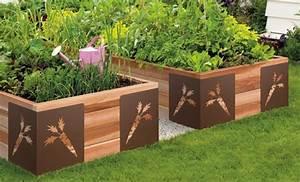 Bac En Bois Pour Jardin : bacs jardinieres terrasses ~ Melissatoandfro.com Idées de Décoration