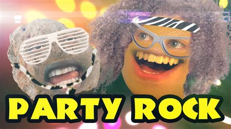 annoying orange party rock ft destorm youtube
