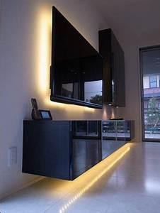 Mur Tv Ikea : les 25 meilleures id es de la cat gorie mur derri re tv sur pinterest mur derri re canap ~ Teatrodelosmanantiales.com Idées de Décoration