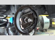 Rear Brake Shoe and Wheel Cylinder Replacement Ford Focus