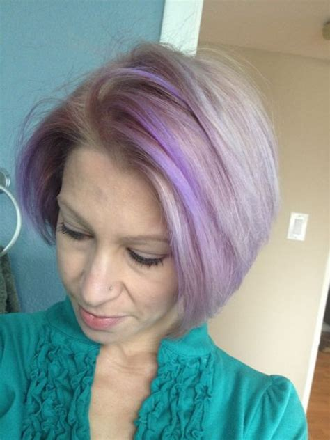Lavender Pastel Hair Highlights Pastel Hair Hair Color Shades