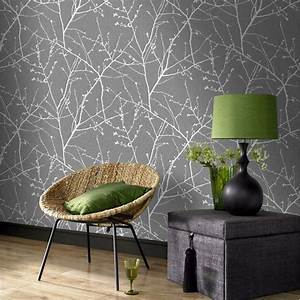 25 best ideas about silver wallpaper on pinterest room With best brand of paint for kitchen cabinets with graham and brown wall art sale
