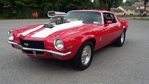 1970 Chevrolet Camaro Ss Pro Street Blown No Reserve For
