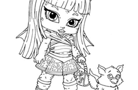 Cozy Descargar Dibujos Para Colorear De Monster High Imprimir ...