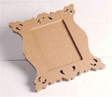 cornici in cartone cornice quadrata in cartone per decorazioni