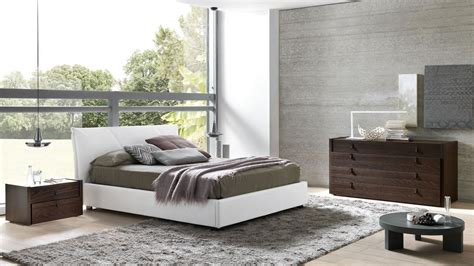 italy leather high  bedroom furniture sets