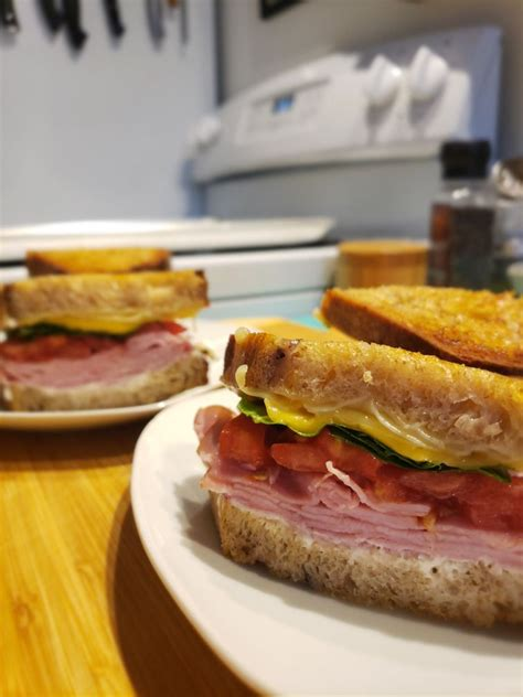 It's got a delicious, salty, almost smoky flavor. Sandwich Recipes — Artisan rye sourdough with chunks of strawberry... in 2020 | Sandwich recipes ...