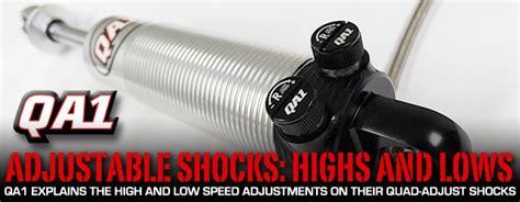 QA1 Quad Adjust Shocks: Getting More Suspension Control