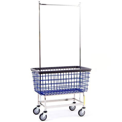 laundry cart on wheels bc textile innovations basket cart laundry basket on wheels rolling shopping cart wire