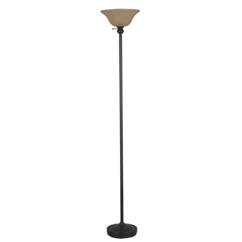 alsy 71 25 in oil rubbed bronze floor l with tinted