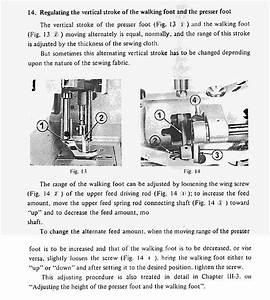 Adjusting Walking Foot Height - Leather Sewing Machines