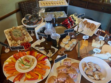 oscar cuisine academy awards 2017 carpet cuisine themed oscar menu recipe for adventures