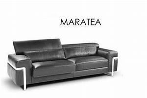 Canapé Haut De Gamme Tissu : canape haut de gamme italien 3 places maratea tissu ou cuir vachette assises et tetieres ~ Teatrodelosmanantiales.com Idées de Décoration