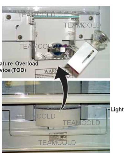 ge monogram refrigerator model zissdriss     trouble   lights
