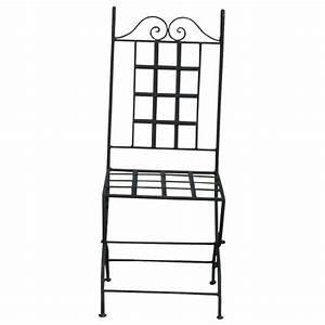 Chaise Fer Forgé : chaise en fer forg chaise de jardin ~ Teatrodelosmanantiales.com Idées de Décoration