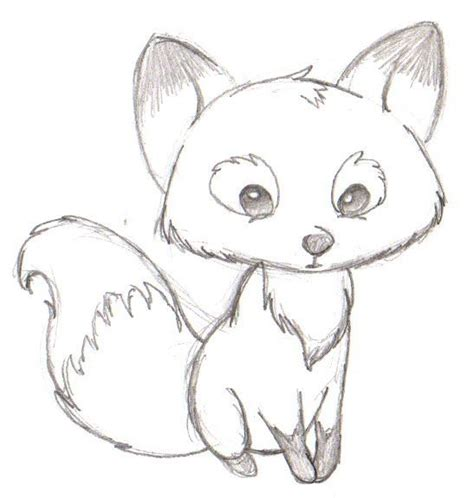 draw  cartoon fox step  step  beginners