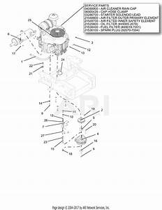 Gravely 991081  040000 - 040999  Pro-turn 160 Parts Diagram For Engine