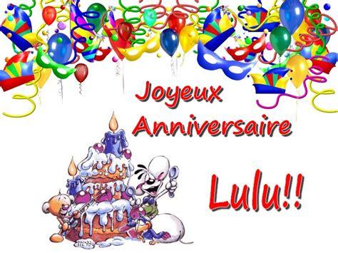 cuisine de ouf joyeux anniversaire lulu le monde de sophy