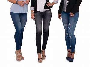 Jeans tajice Slim u2018n Lift Caresse | Top Shop