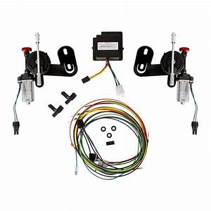 Detroit Speed Inc Electric Rs Headlight Door Kit