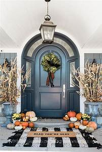 Beautiful, Entrance, Way, Front, Doors, Fall, Decorations, Front, Door, Dream, Home, Homedecoreasy