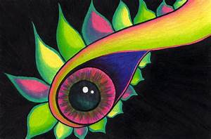 Simple Psychedelic Drawing | Annie's Art Blog