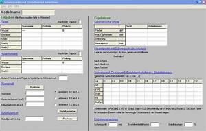 Luftschraube Berechnen Programm : software ~ Themetempest.com Abrechnung