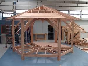 Fabriquer Tenon Mortaise : r alisation d 39 un kiosque ~ Premium-room.com Idées de Décoration