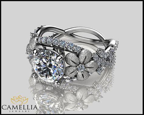 14k White Gold Floral Diamond From Camellia Jewelry. Dysautonomia Bracelet. Pink Engagement Rings. Regular Chains. Lighting Pendant. Black Gold Bracelet. Drop Chains. 10k Gold Stud Earrings. Pear Shape Pendant