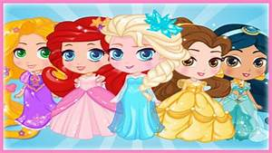 Disney Chibi Princess Maker - Baby Princesses Elsa ...