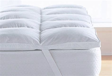 34125 king size bed topper king size topper mattress goose feather ebay