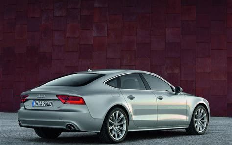 Audi A7 Backgrounds by 2011 Audi A7 Sportback At The Wall Hd Desktop