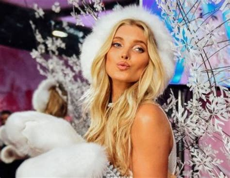 amazing elsa hosk  victorias secret fashion show