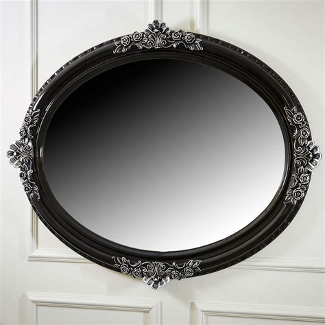 Black Oval Bathroom Mirror by 20 Best Ideas Ornate Oval Mirrors Mirror Ideas