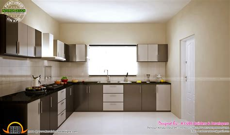 indian home interiors pictures low budget kitchen and master bedroom designs kerala home design