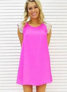 Best 25 Neon pink dresses ideas on Pinterest