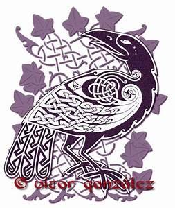 Celtic Raven III by twistedstrokes on DeviantArt