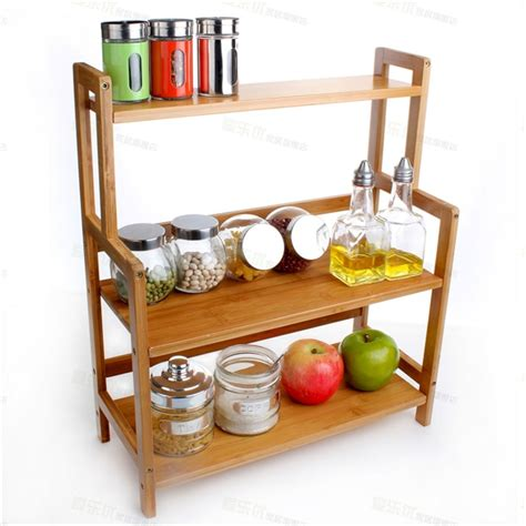 Kitchen Countertop Storage Shelf (kitchen Countertop