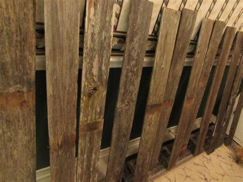 Reclaimed Old Fence Wood Boards 15 Fence Boards 48 Inch