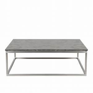Table Basse Carrée 100x100 : table basse brian en marbre carree 100x100 mykaz ~ Teatrodelosmanantiales.com Idées de Décoration
