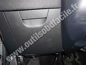 Obd2 Connector Location In Fiat Stilo  2001