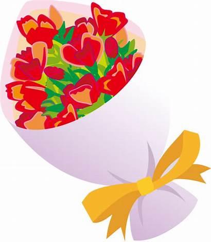 Flowers Bouquet Clipart Bunch Clip Bouquets Flores