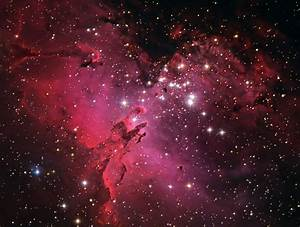 M16 Eagle Nebula Face - Pics about space