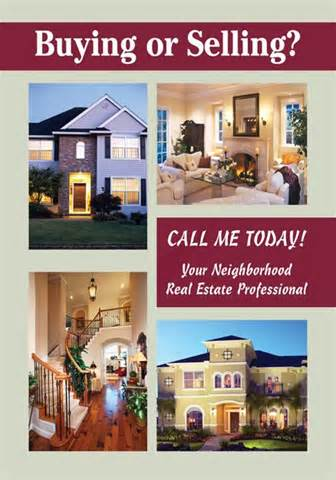 Real Estate Neighborhood Realtor Postcards