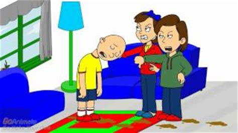 caillou pees in the bathtub caillou poops on rosie and gets grounded