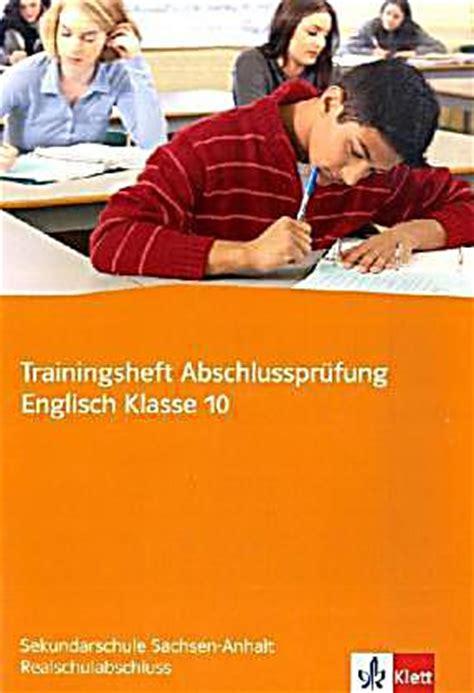 Trainingsheft Abschlussprüfung Englisch, Klasse 10